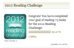 2012 reading challenge destroyed