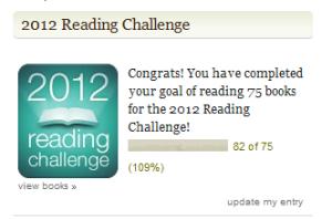 2012 reading challenge destroyed