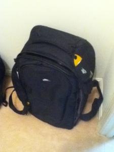 My handy dandy suitcase.