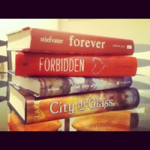 Some of my favorite books, that so happen to be young-adult.
